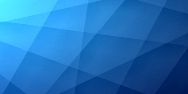 Abstract blue background - Geometric texture Modern and trendy abstract background. Geometric texture for your design (colors used: blue, black). Vector Illustration (EPS10, well layered and grouped), wide format (2:1). Easy to edit, manipulate, resize or colorize. dark blue stock illustrations