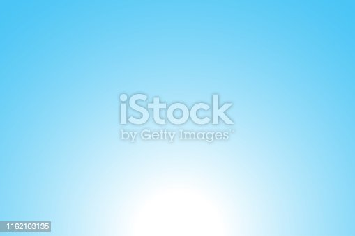 Abstract blue background: Sunrise