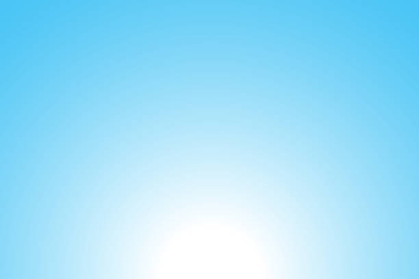 Abstract blue background: Sunrise Abstract blue background: Sunrise blue sky stock illustrations