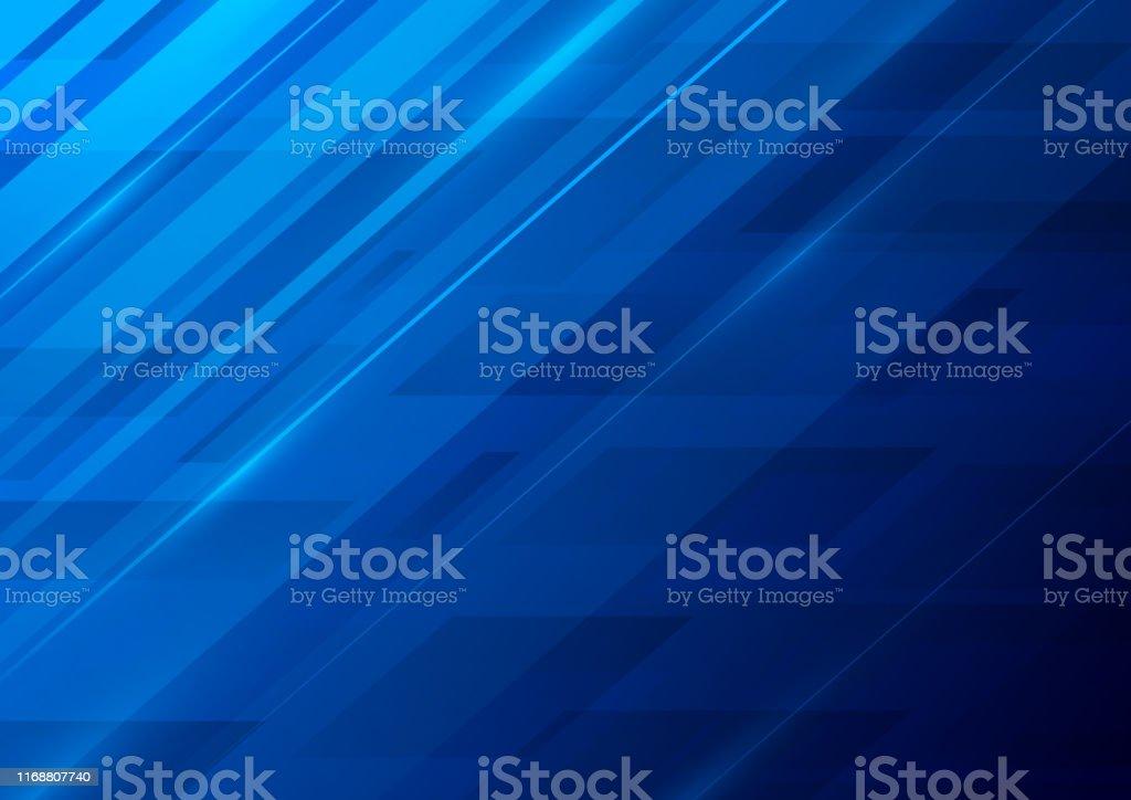 Fundo azul abstrato - Vetor de Abstrato royalty-free