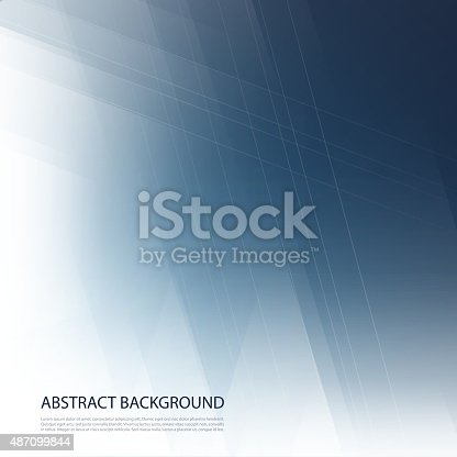 istock Abstract Blue Background 487099844