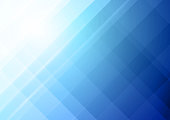 Abstract bright colorful blue vector background
