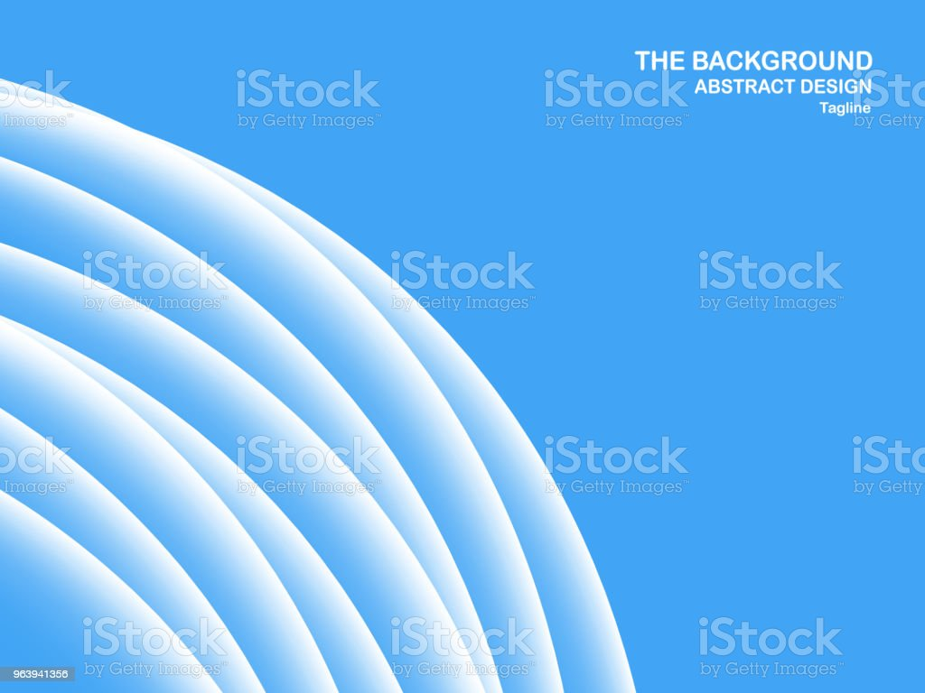 Abstract blue background with copy space for text. Modern template design for cover, brochure, web banner and magazine. - Royalty-free Abstract stock vector