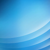 Abstract blue background with curve lines smooth blue light, Vector illustration, copy space