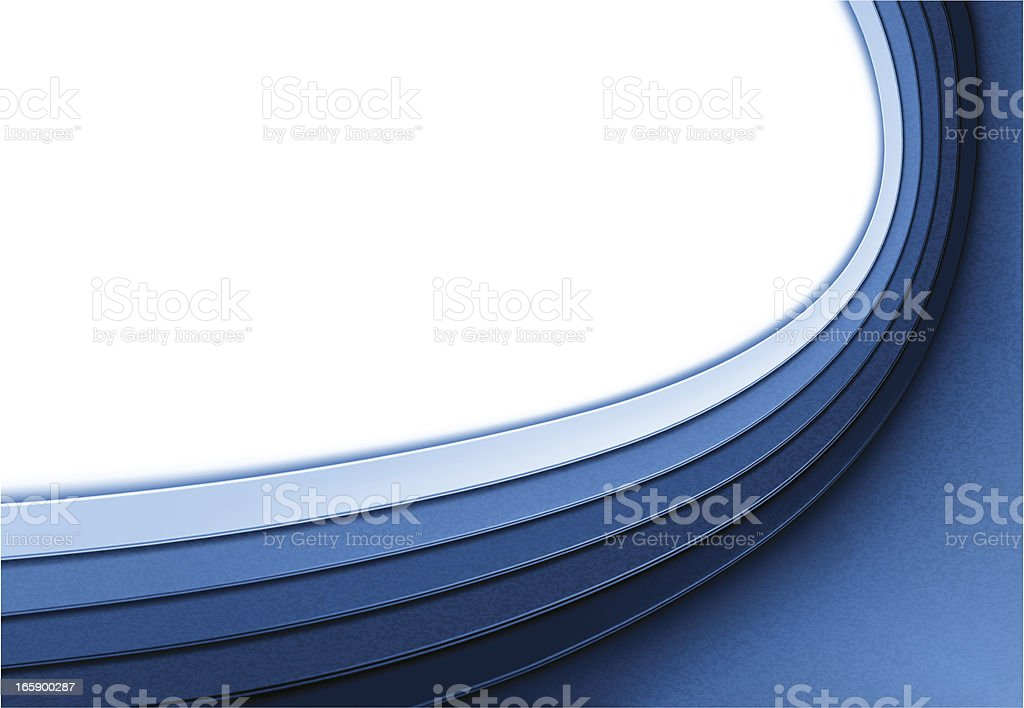 Abstract blue background with white light royalty-free stock vector art