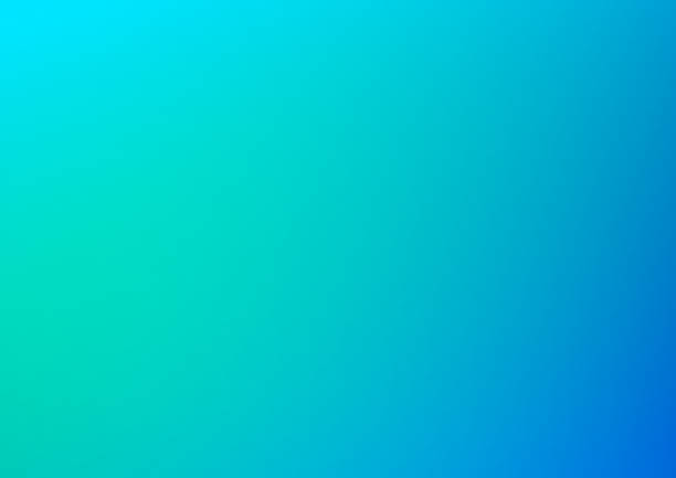 Abstract blue blurred background vector art illustration