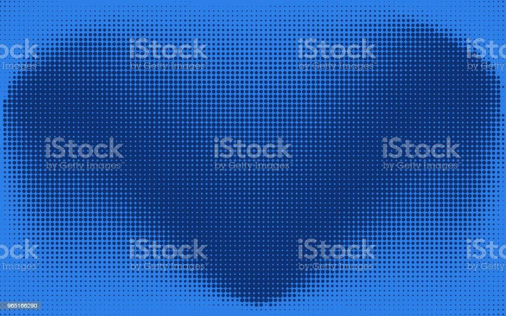 Abstract blue check or heart dotted background abstract blue check or heart dotted background - stockowe grafiki wektorowe i więcej obrazów abstrakcja royalty-free