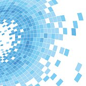 istock abstract blue check shape background 483050869