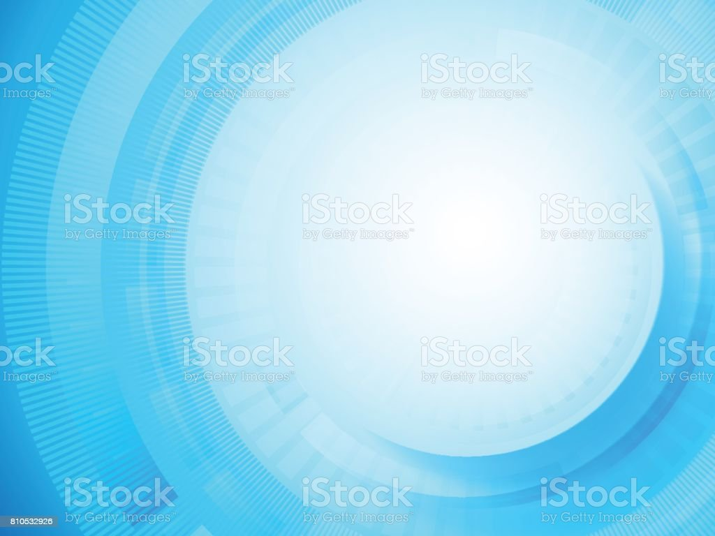 Abstract Blue circle background, vector vector art illustration