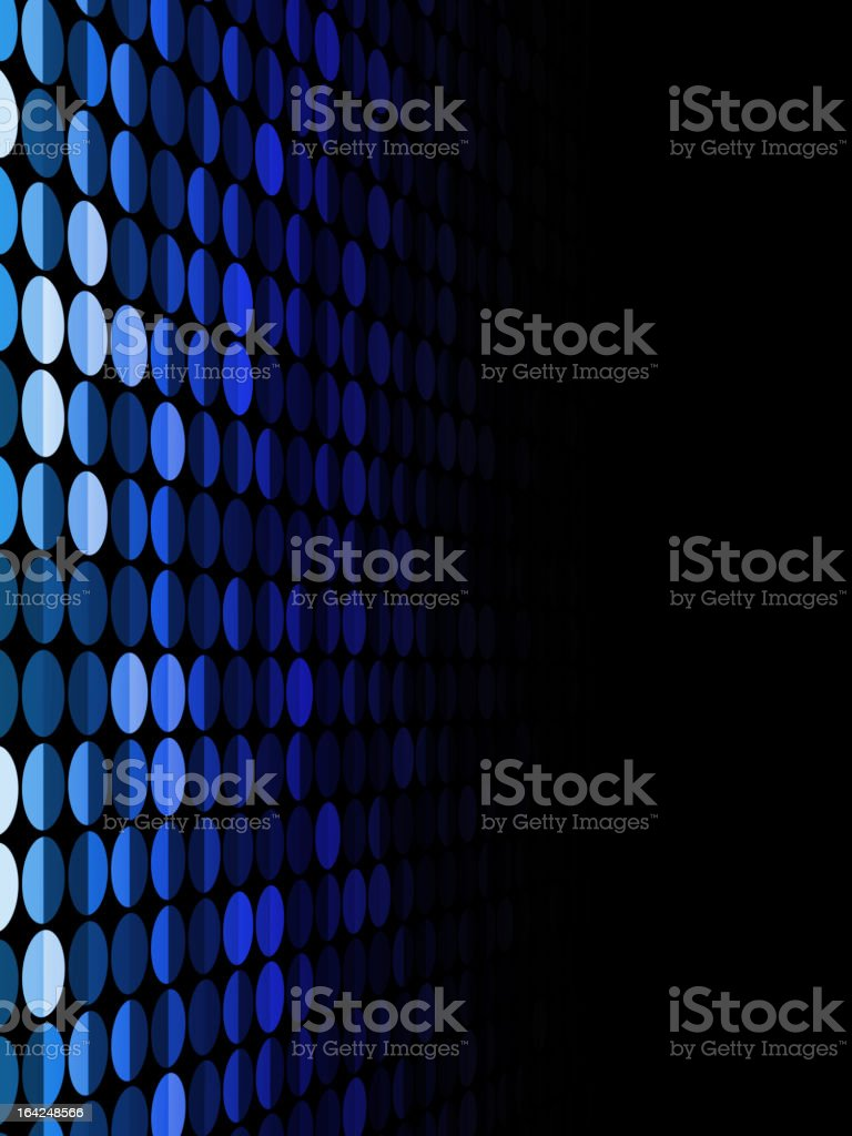 Abstract blue circles background. royalty-free stock vector art