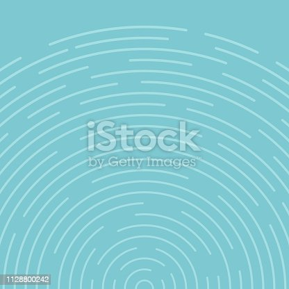 Abstract blue circles spin pattern lines background. Vector illustration