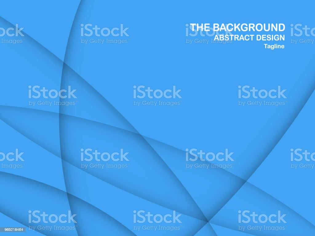 Abstract blue curve background with copy space for white text. Modern template design for cover, brochure, web banner and magazine. royalty-free abstract blue curve background with copy space for white text modern template design for cover brochure web banner and magazine stock vector art & more images of abstract