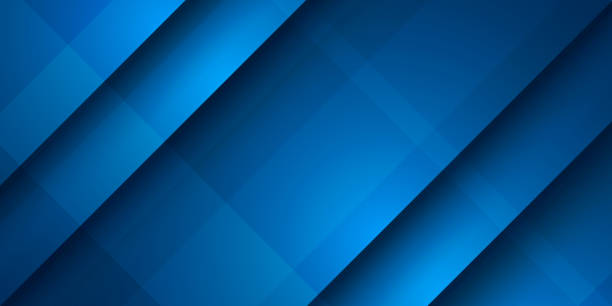 Abstract blue diagonal overlap background Abstract blue diagonal overlap background blue drawings stock illustrations