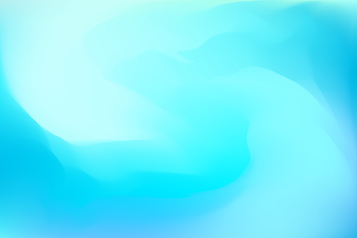 Abstract blue dreamy background