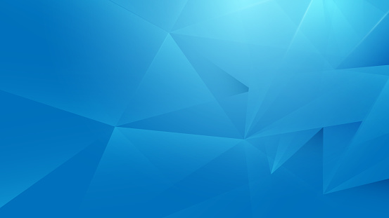 Abstract blue geometric background. Technology Hi-tech futuristic digital and Healthcare concept. Vector illustration