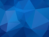 modern style abstract blue geometric background