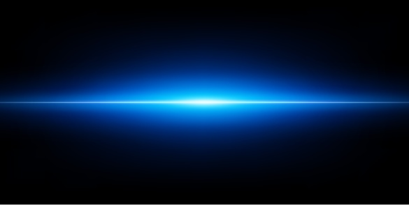 Abstract blue glow background with lights beam background