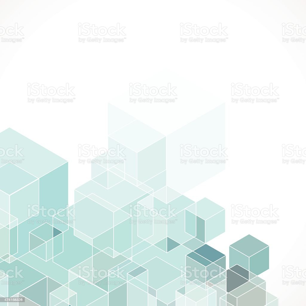 Abstract Blue Hexagon Geometry Pattern Background Stock ...