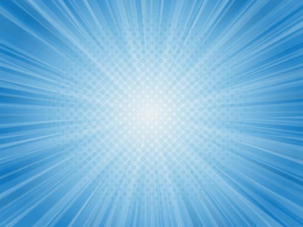 abstract blue light rays vector illustration background vector art illustration