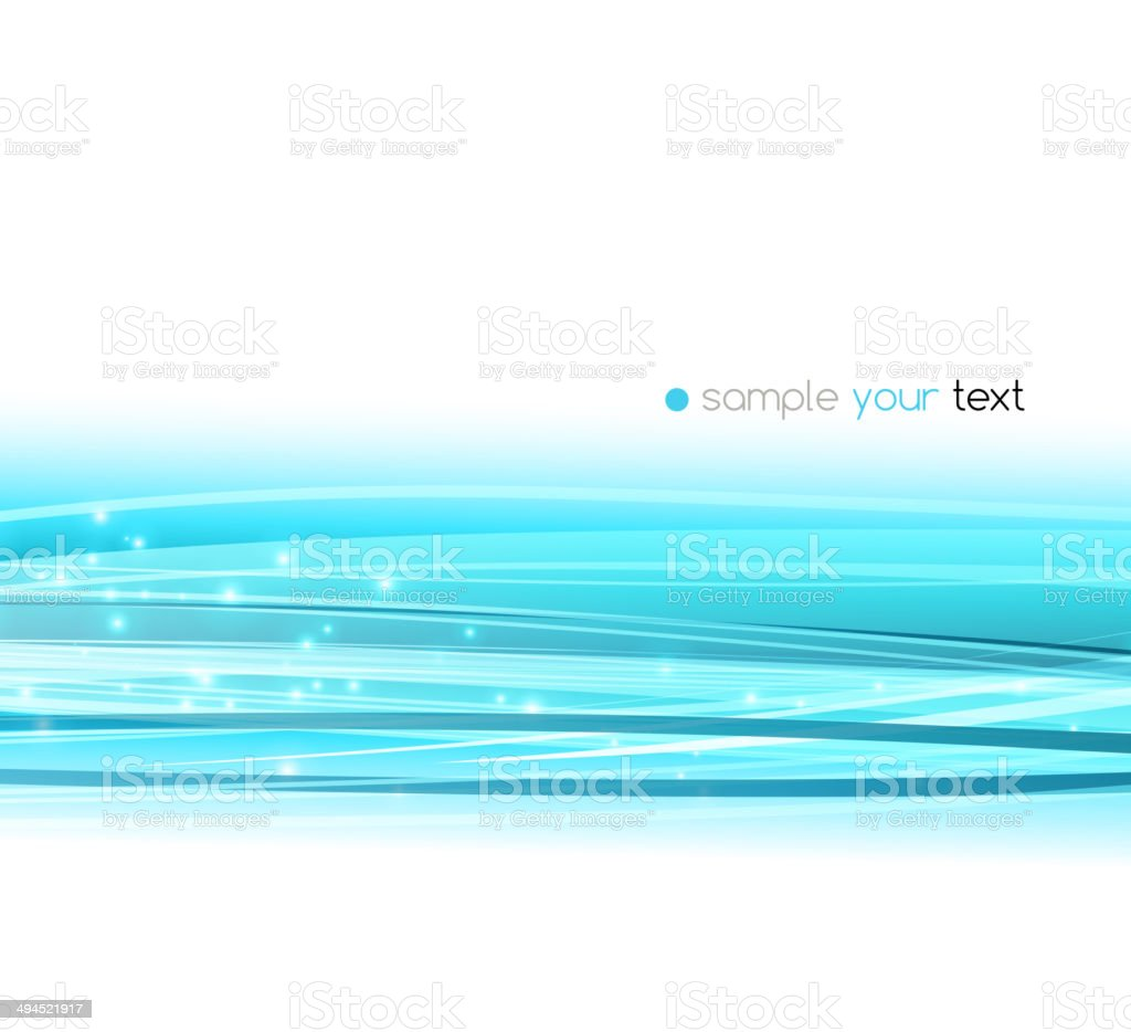 Abstract blue line vector background royalty-free stock vector art