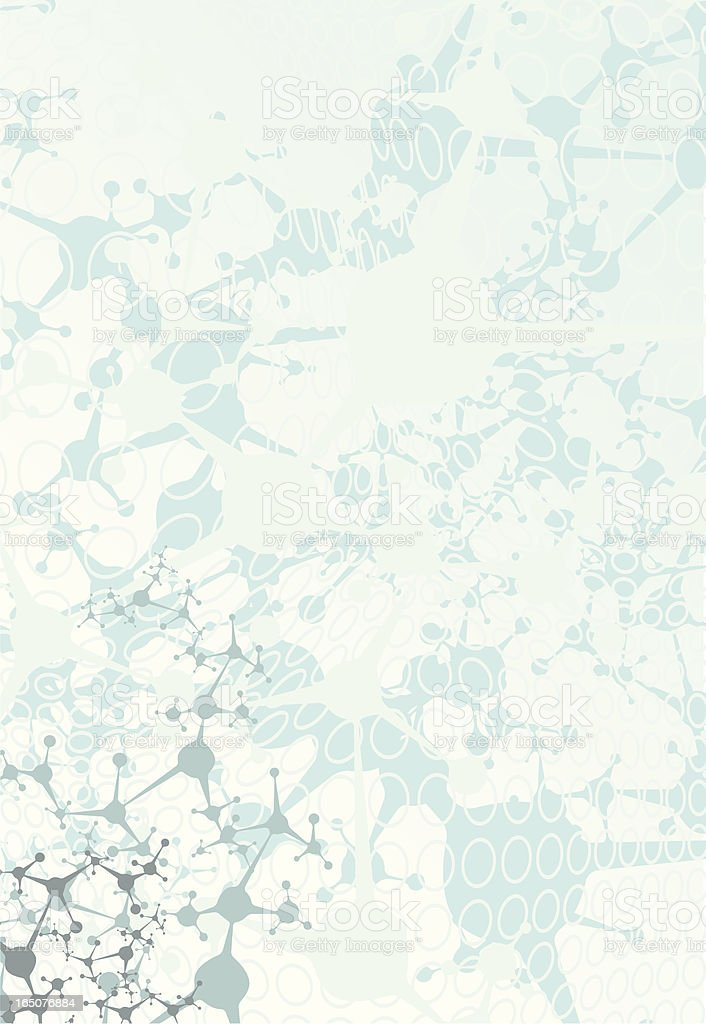 Abstract blue network background vector art illustration