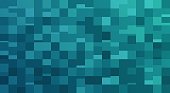 Abstract square pixel background border concept.