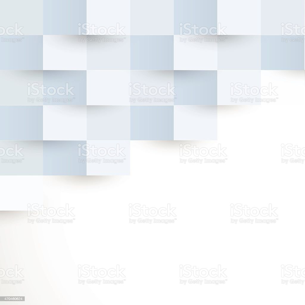 abstract blue rectangle pattern background vector art illustration