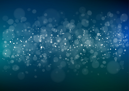 Abstract blue sparkling background