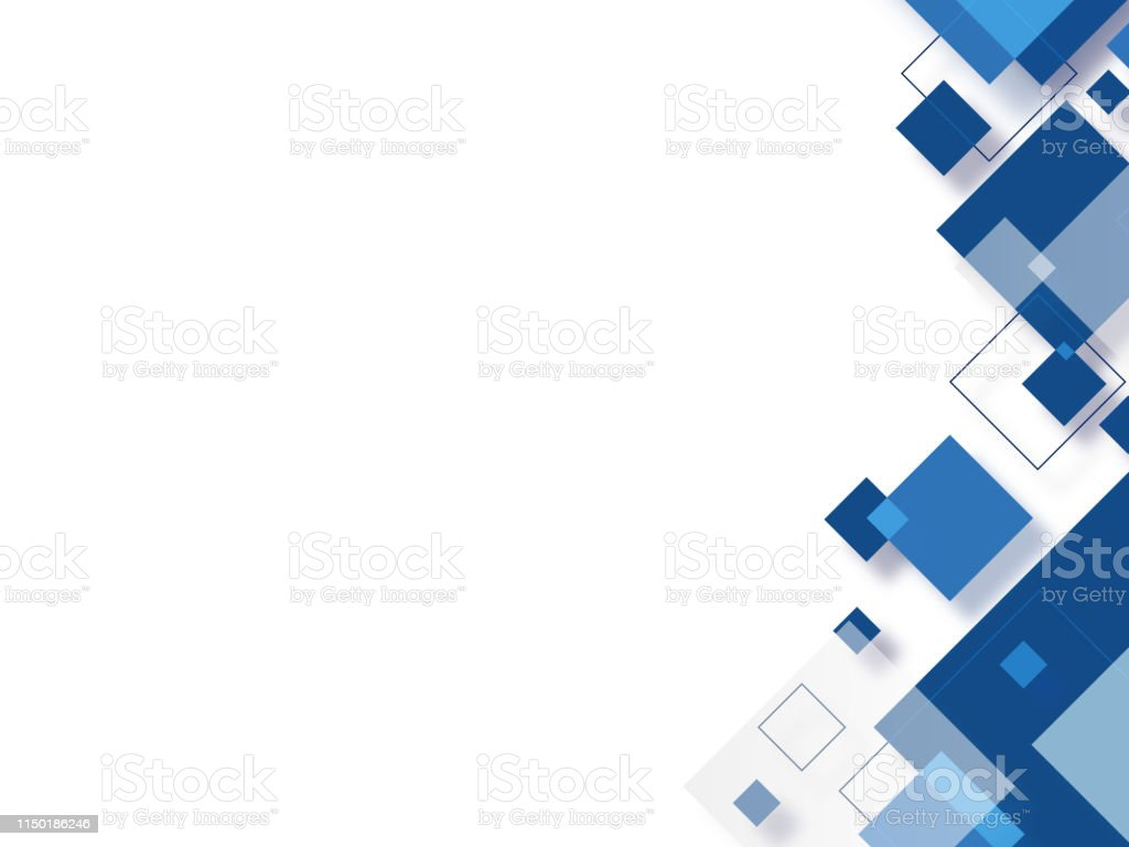 abstract blue square background abstract square background Abstract stock vector