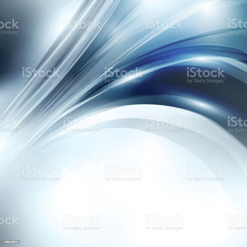 Abstract blue swirl background royalty-free stock vector art