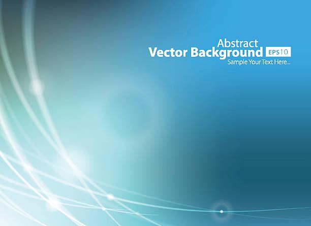 ブルー技術の抽象的な背景ベクトルイラスト ベクターアートイラスト