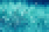 Pixelated, Square Shape, Red, Backgrounds, Pattern
