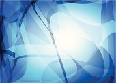 istock abstract blue transparency technology pattern background 492261291