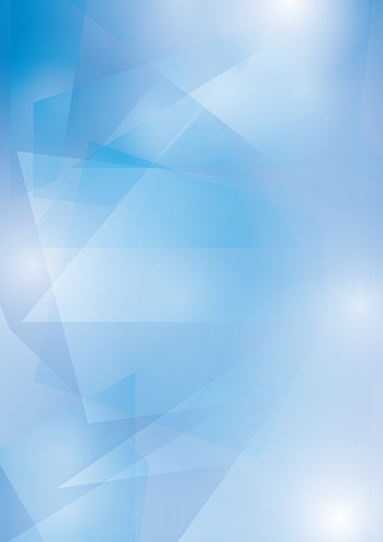 Abstract Blue Vector Background With Transparent Geometric ...