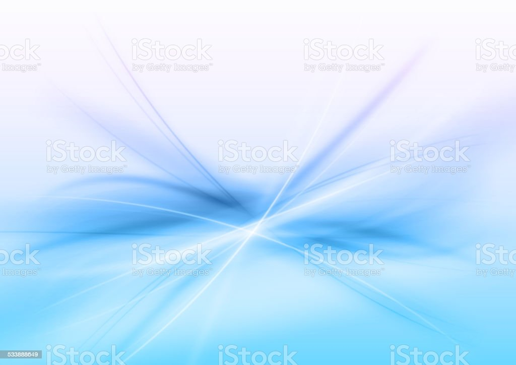 Abstract Blue vector art illustration