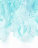 istock Abstract blue watercolor background 1285152320