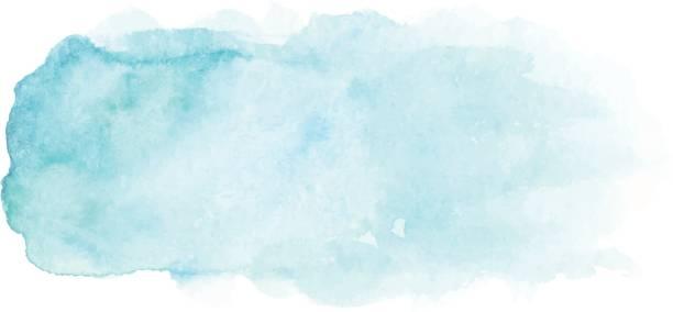 Abstrait aquarelle bleuissement - Illustration vectorielle