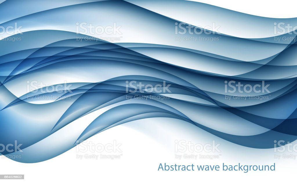 Abstract Blue Wave Set on Transparent  Background. Vector Illus royalty-free abstract blue wave set on transparent background vector illus stock vector art & more images of abstract