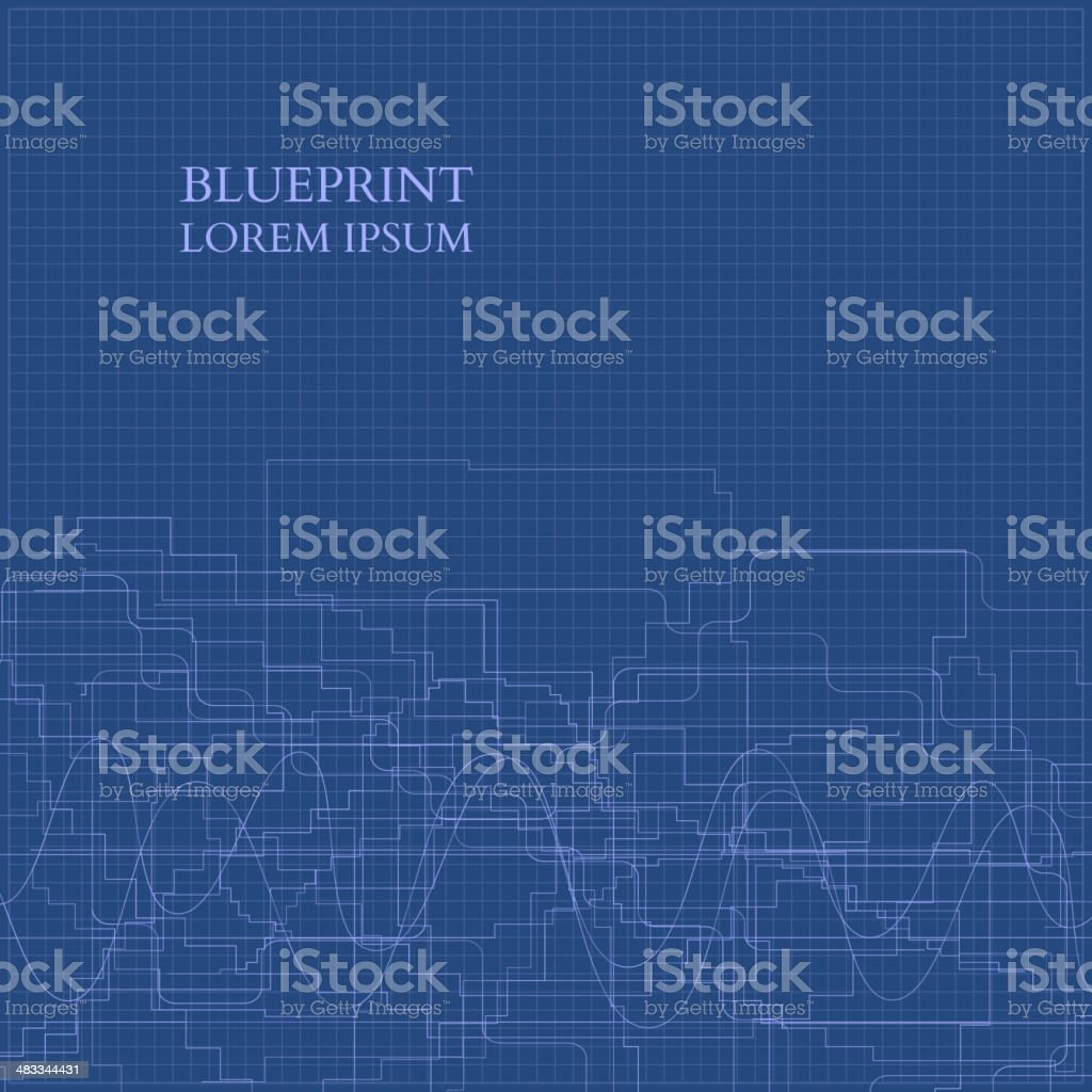 Abstract blueprint background for business vector stock vector art abstract blueprint background for business vector royalty free abstract blueprint background for business vector malvernweather Image collections
