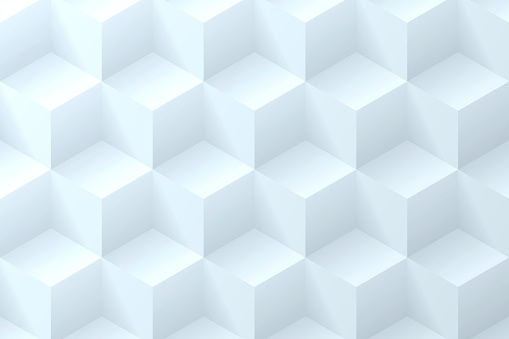 Abstract bluish white background - Geometric texture