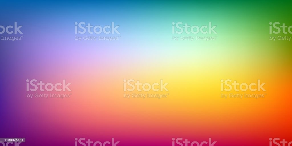 Abstract blur background, rainbow mesh gradient, color power, pattern for you presentation, vector design wallpaper - Royalty-free Abstrato arte vetorial