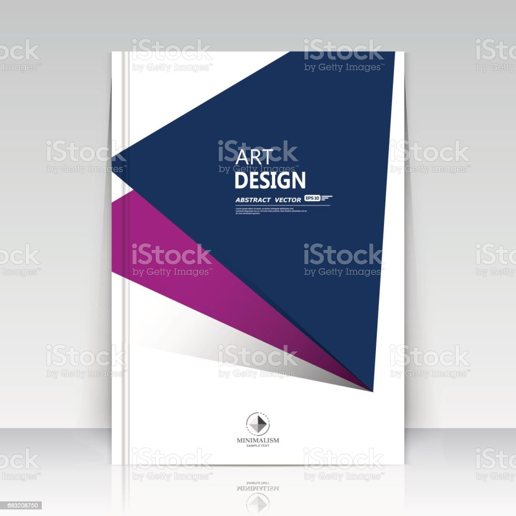 Abstract blurb theme. Text frame surface. A4 brochure cover design. Modern title sheet model. Creative front page. Banner form texture. Blue, purple triangle figure icon. Flyer fiber font. Vector art royalty-free abstract blurb theme text frame surface a4 brochure cover design modern title sheet model creative front page banner form texture blue purple triangle figure icon flyer fiber font vector art stock vector art & more images of abstract