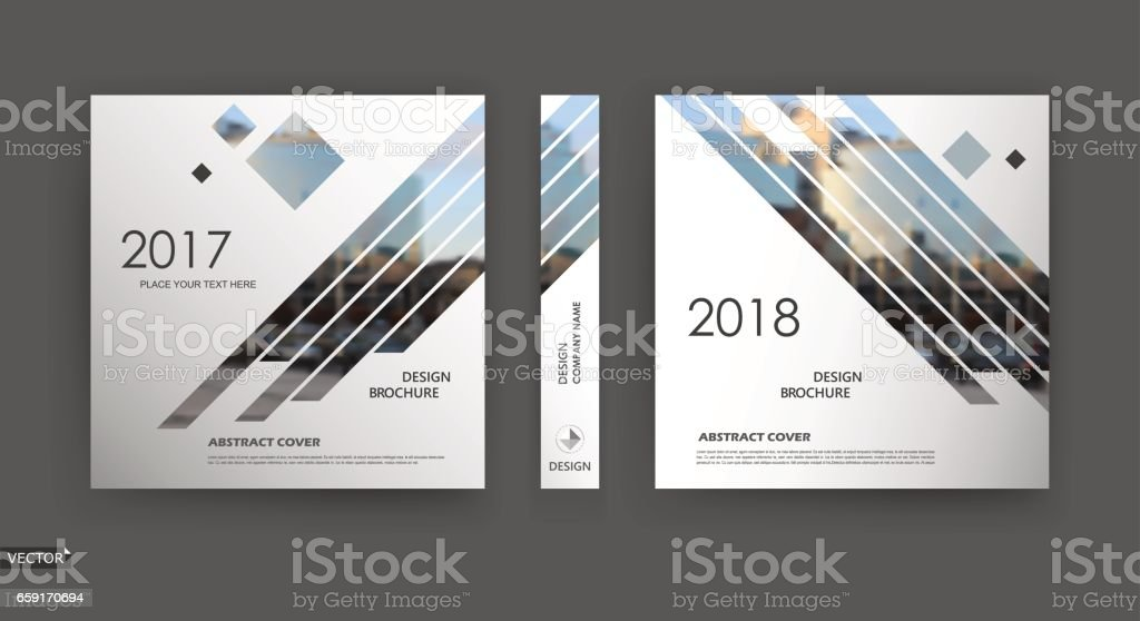abstract blurb white black brochure cover design fancy