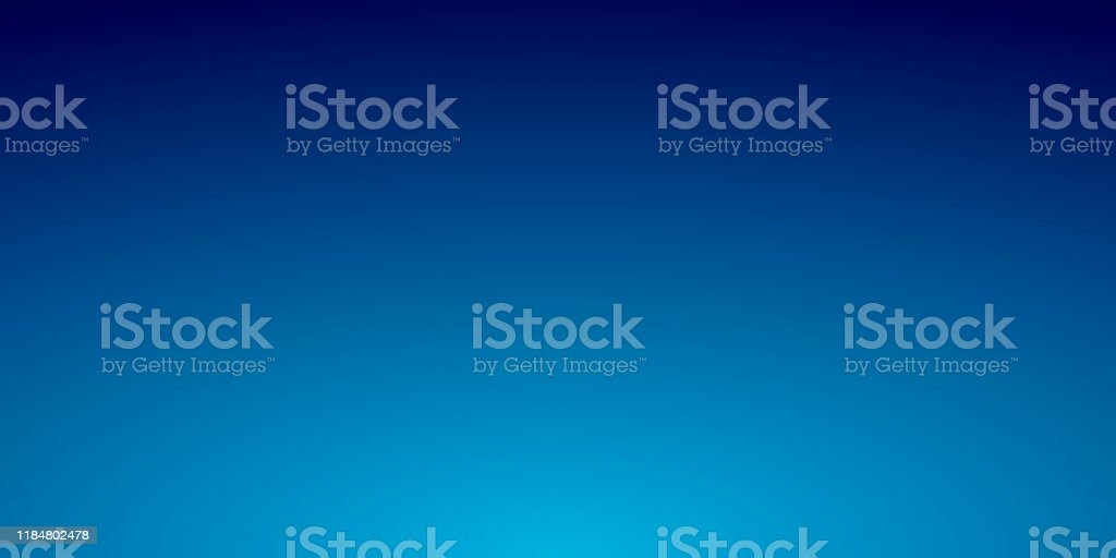 Abstract blurred background - defocused Blue gradient - Royalty-free Abstract stock vector