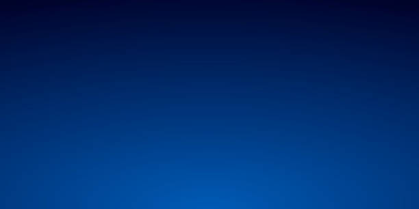 illustrazioni stock, clip art, cartoni animati e icone di tendenza di abstract blurred background - defocused blue gradient - blu scuro