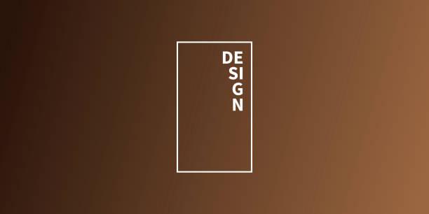 추상흐린 배경 - 초점이 맞지 않는 갈색 그라데이션 - 갈색 stock illustrations