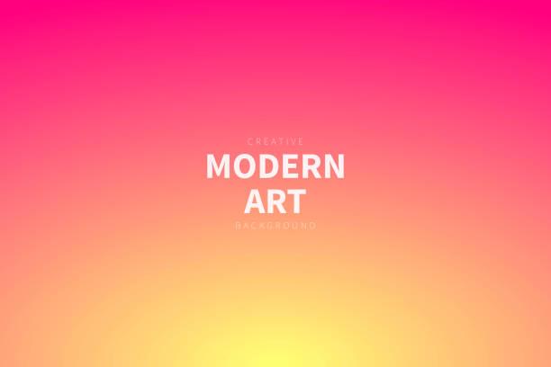 bildbanksillustrationer, clip art samt tecknat material och ikoner med abstrakt suddig bakgrund-defokuserad orange gradient - pink sunrise