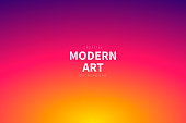 Modern and trendy abstract background with a defocused and blurred gradient, can be used for your design, with space for your text (colors used: Yellow, Orange, Red, Pink, Purple). Vector Illustration (EPS10, well layered and grouped), wide format (3:2). Easy to edit, manipulate, resize or colorize.