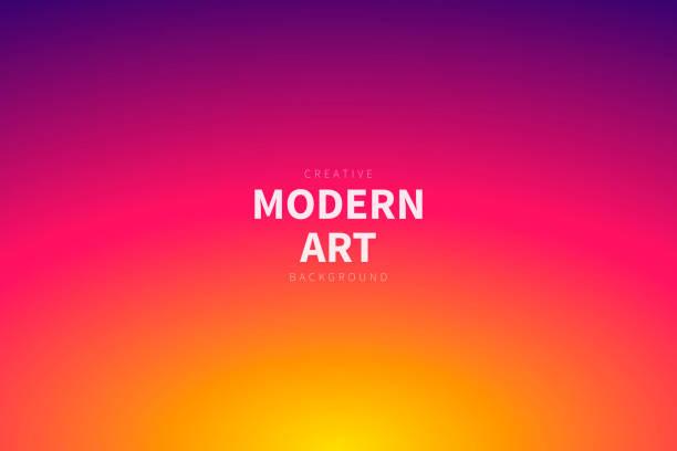 bildbanksillustrationer, clip art samt tecknat material och ikoner med abstrakt suddig bakgrund-defokuserad rosa gradient - pink sunrise