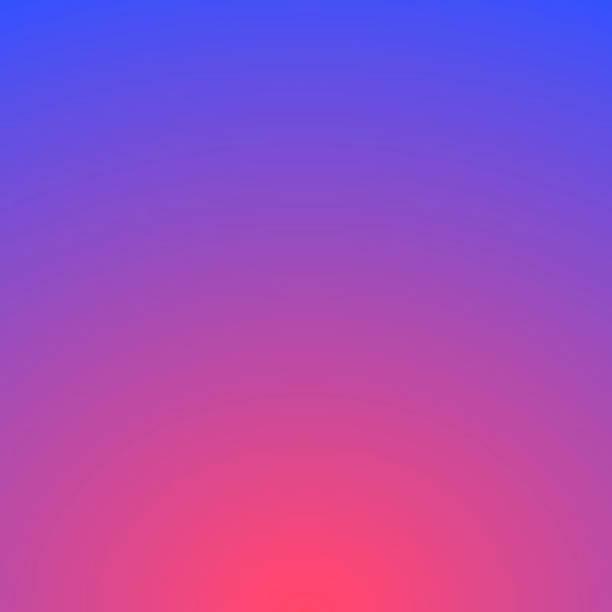 bildbanksillustrationer, clip art samt tecknat material och ikoner med abstrakt suddig bakgrund-defokuserad lila lutning - pink sunrise